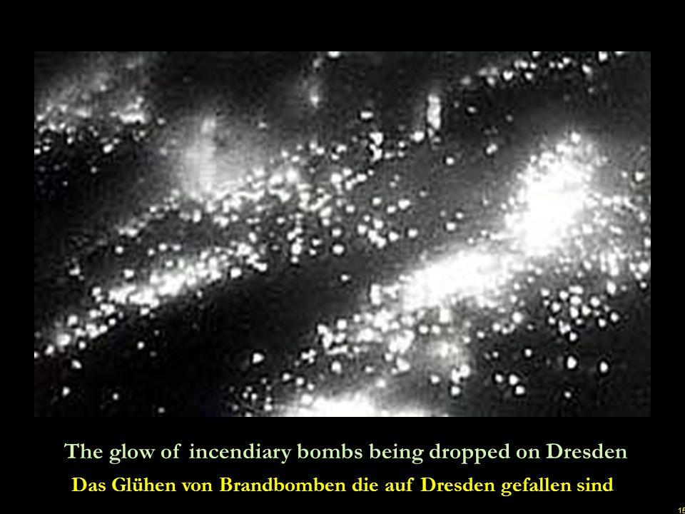 14 Night time attack by British bombers on February 13. 1945 Nächtlicher Angriff durch britische Bomber am 13. Februar 1945 u