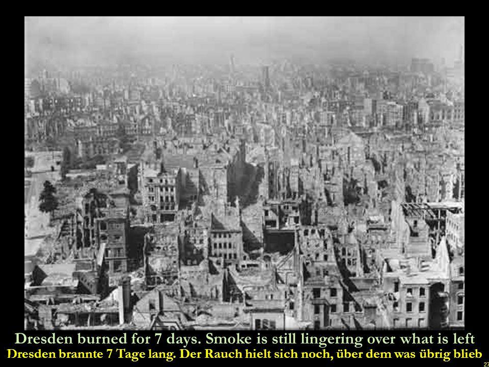 26 The burning of humans in AGFA colour Das Verbrennen von Menschen in AGFA COLOR u