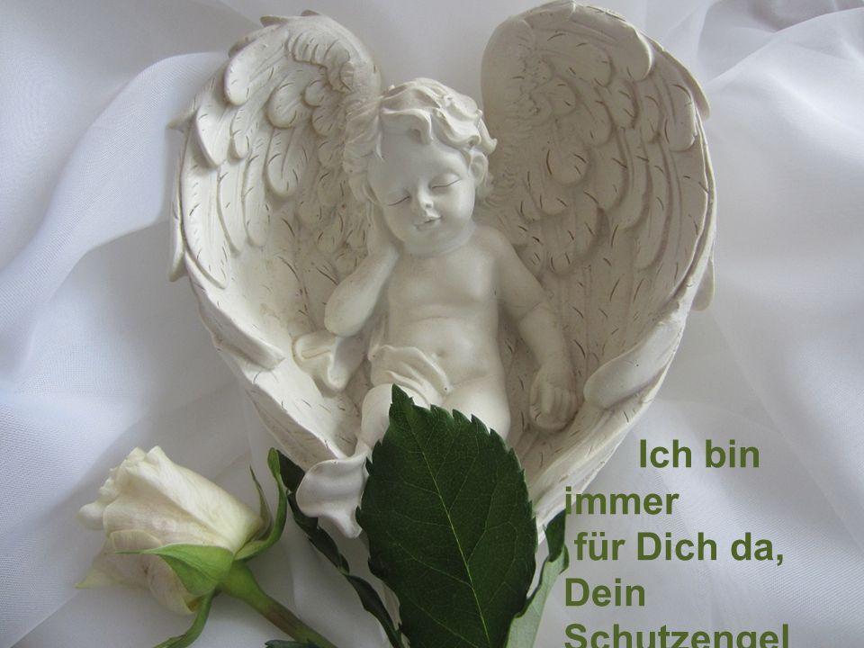 Ganz leise näherst du dich mir an, ich spür` wie mich deine Flügel berührn, dann zündest du in mir den Funken an um mich zurück ins Licht zu führn. Ve