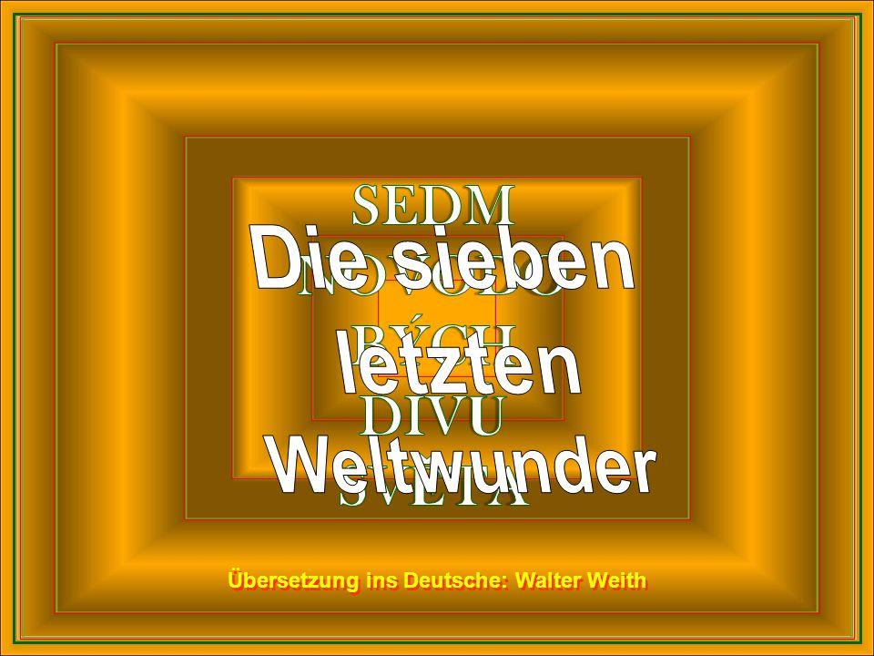 Übersetzung ins Deutsche: Walter Weith