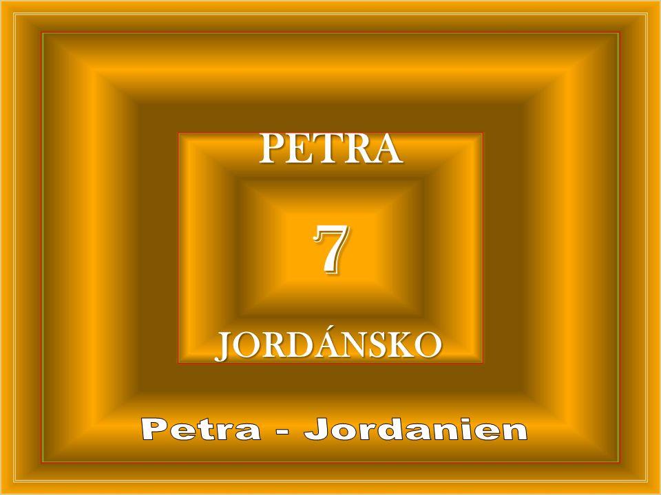 7 PETRA JORDÁNSKO