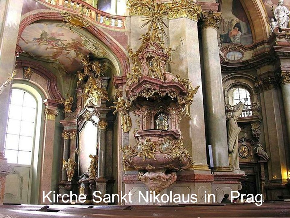 Kirche Sankt Nikolaus in Prag