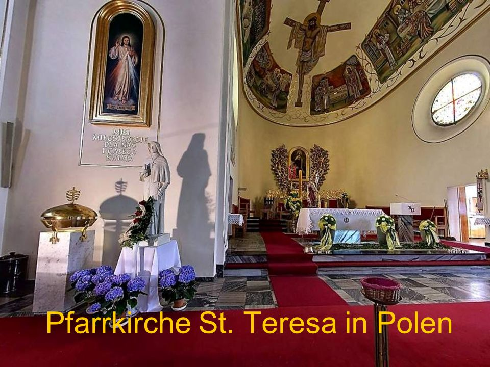 Pfarrkirche St. Teresa in Polen
