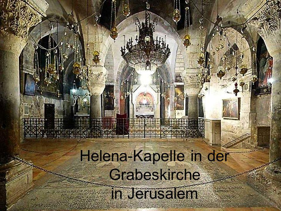 Helena-Kapelle in der Grabeskirche in Jerusalem