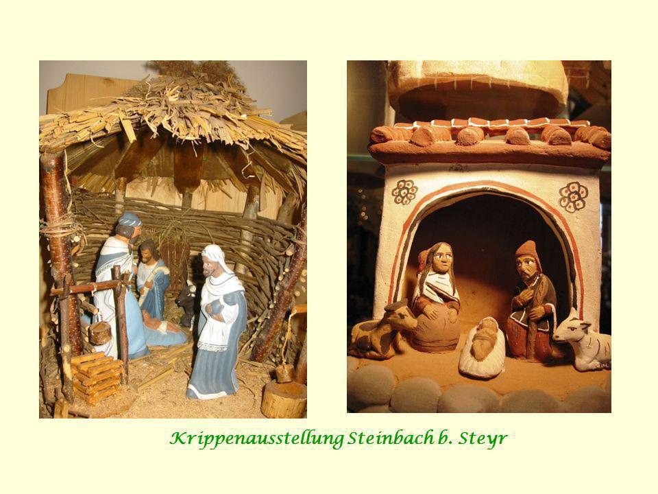 Krippenausstellung Steinbach b. Steyr