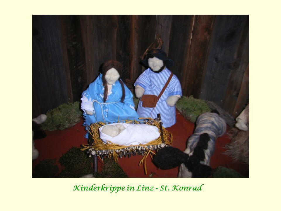 Kinderkrippe in Linz - St. Konrad