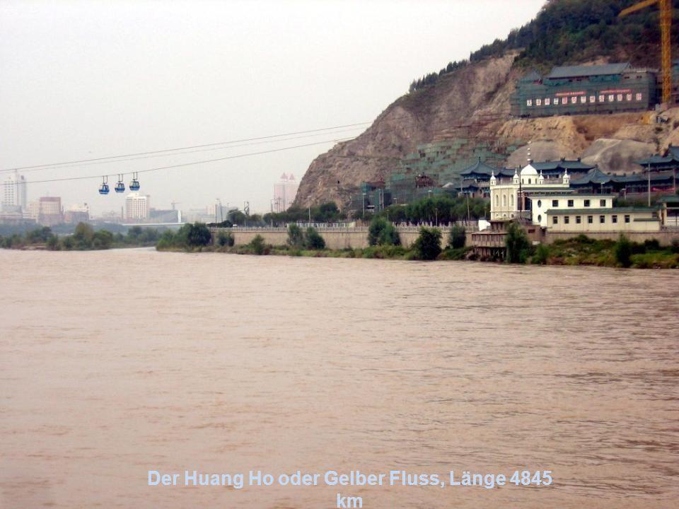Der Amur, Länge 2824 km durchfließt China und Russland