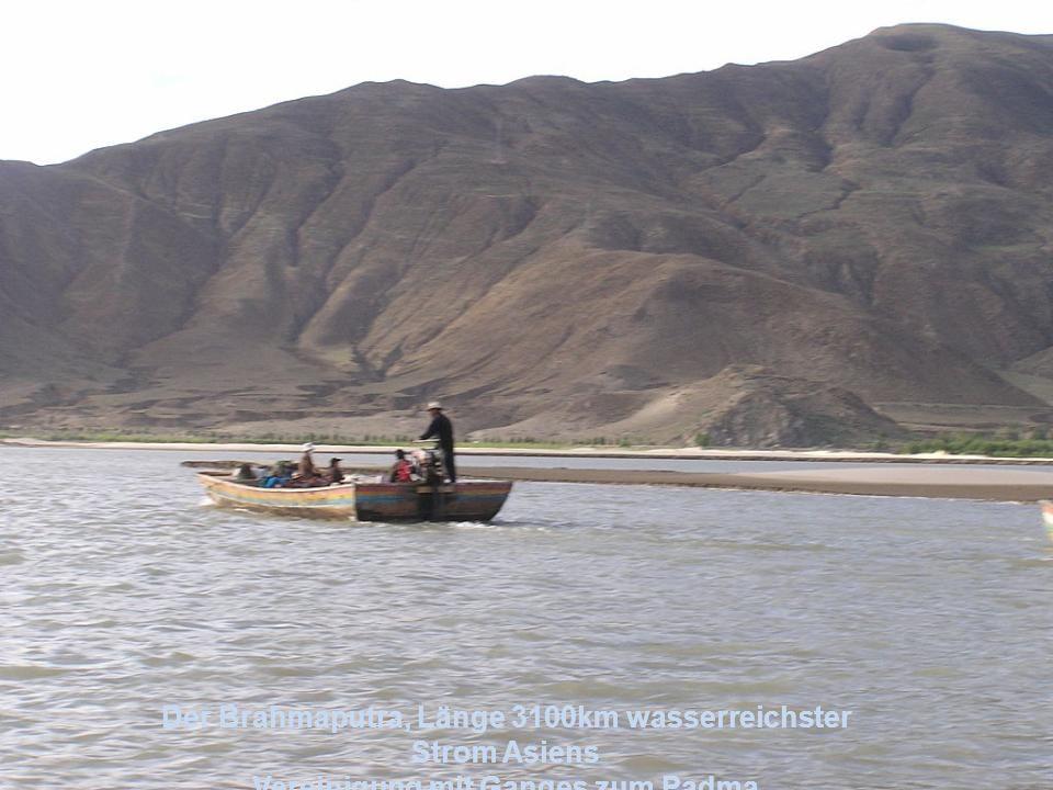 Der Mekong in Thailand Länge 4500 km Strom in Südostasien