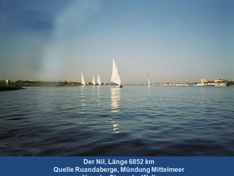 Nil Niger Kongo Sambesi