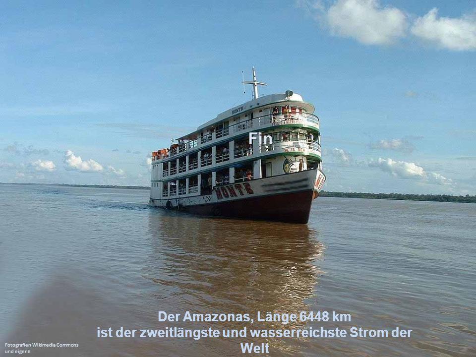 Der Orinoco, Länge 2010 km durchfließt hauptsächlich Venezuela