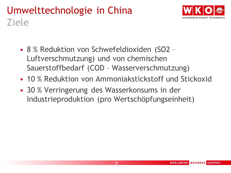 9 China hat 2004 die USA als größter Müllerzeuger der Welt überholt Beinahe ein Drittel des weltweit generierten Festmülls wird in China erzeugt China produziert ca.