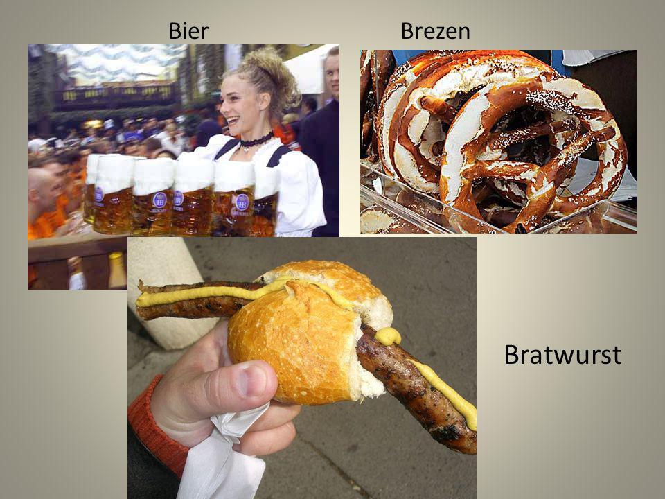 BierBrezen Bratwurst