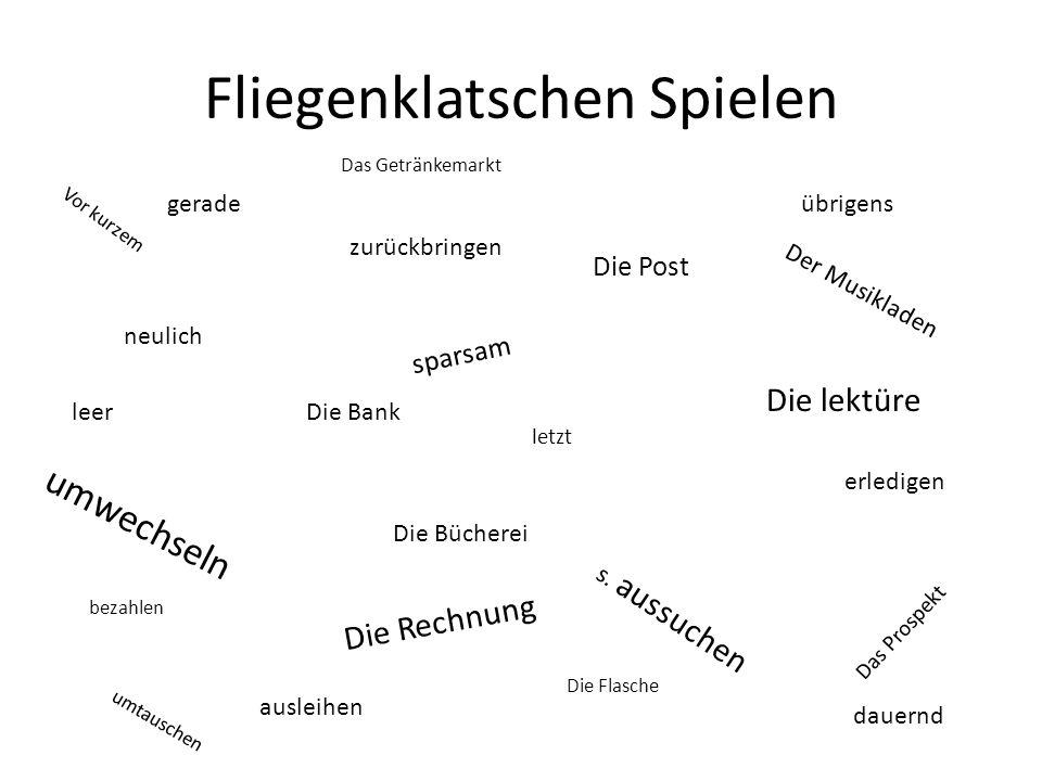 Klingelarbeit: In, An, Auf B: Ja, Dann waren wir _______________ Lindau,_______________ Bodensee A:Und du.