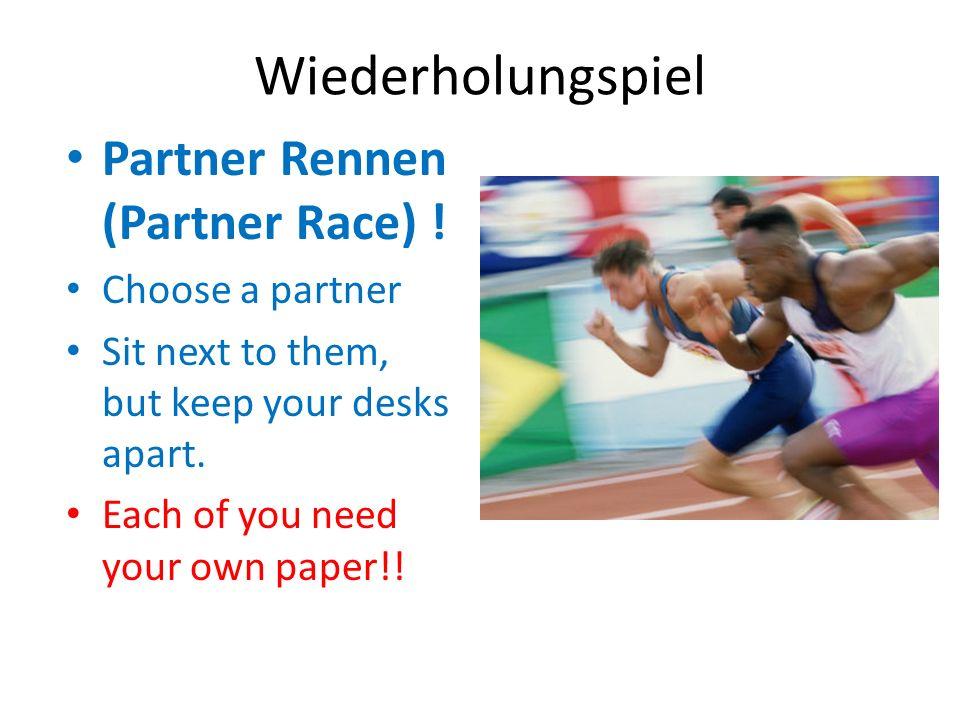 Wie sagt man auf Deutsch…. Track and field Leichtathletik