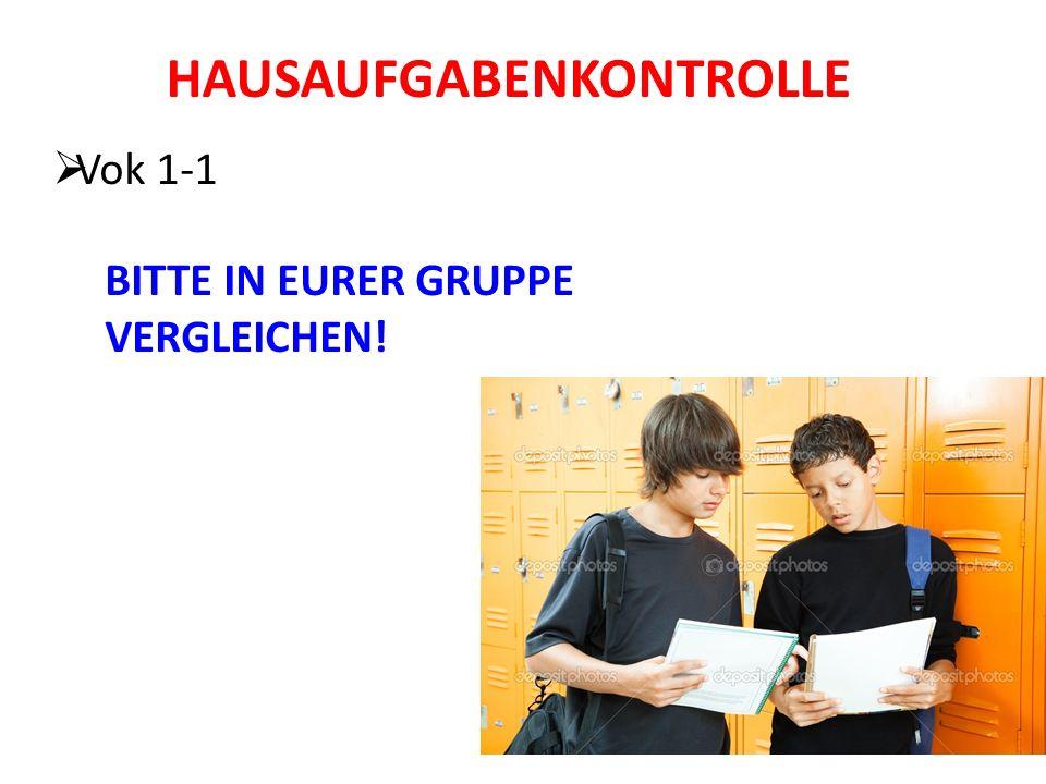 HAUSAUFGABEN Grammatikheft GH#1 Ich liebe Deutschhausaufgaben!