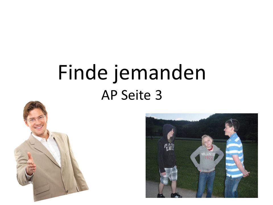 Finde jemanden AP Seite 3