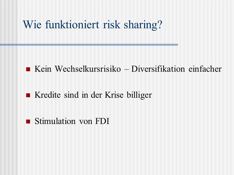 Risk Sharing und Konsumglättung – Lewis (1999)