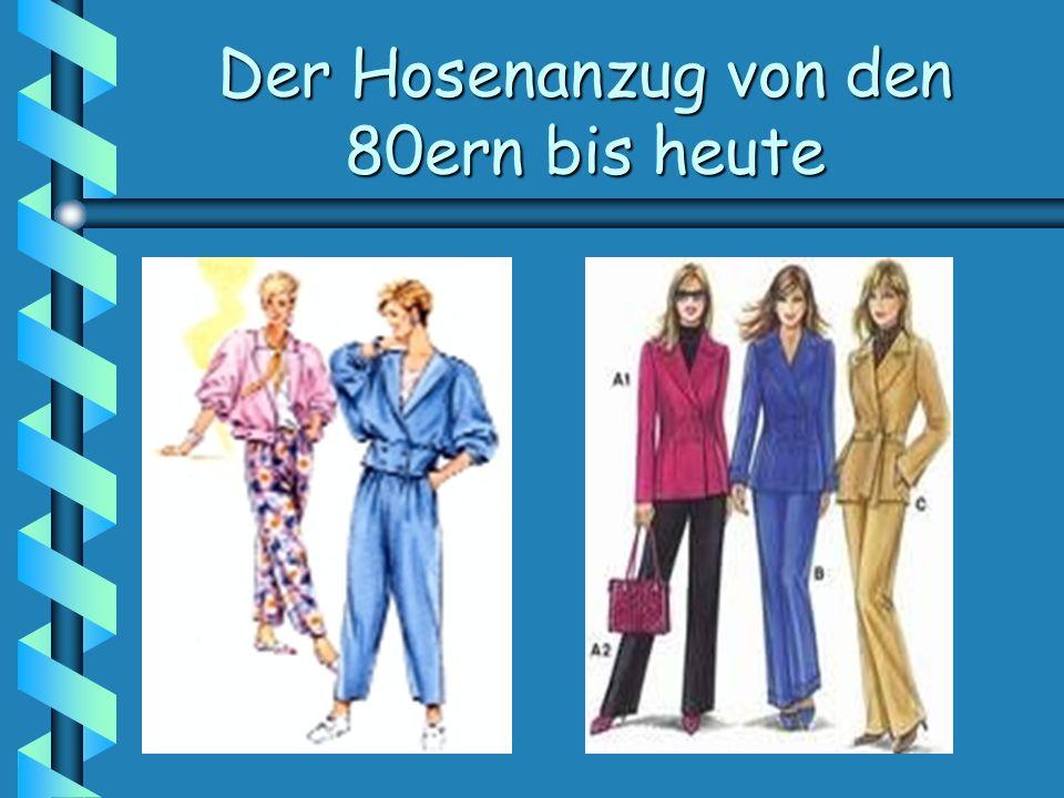 Der Hosenanzug von den 80ern bis heute