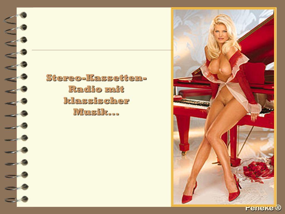 Peneke ® Stereo-Kassetten- Radio mit klassischer Musik...