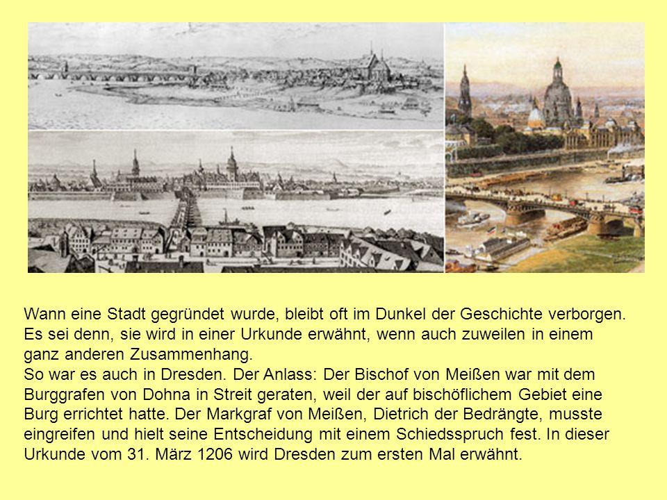 Wann eine Stadt gegründet wurde, bleibt oft im Dunkel der Geschichte verborgen.
