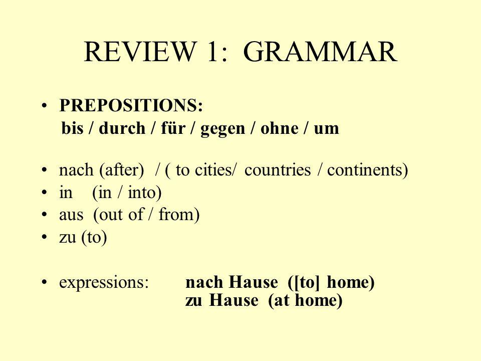 EXAM V.Fill the blanks with the appropriate preposition from the list below.