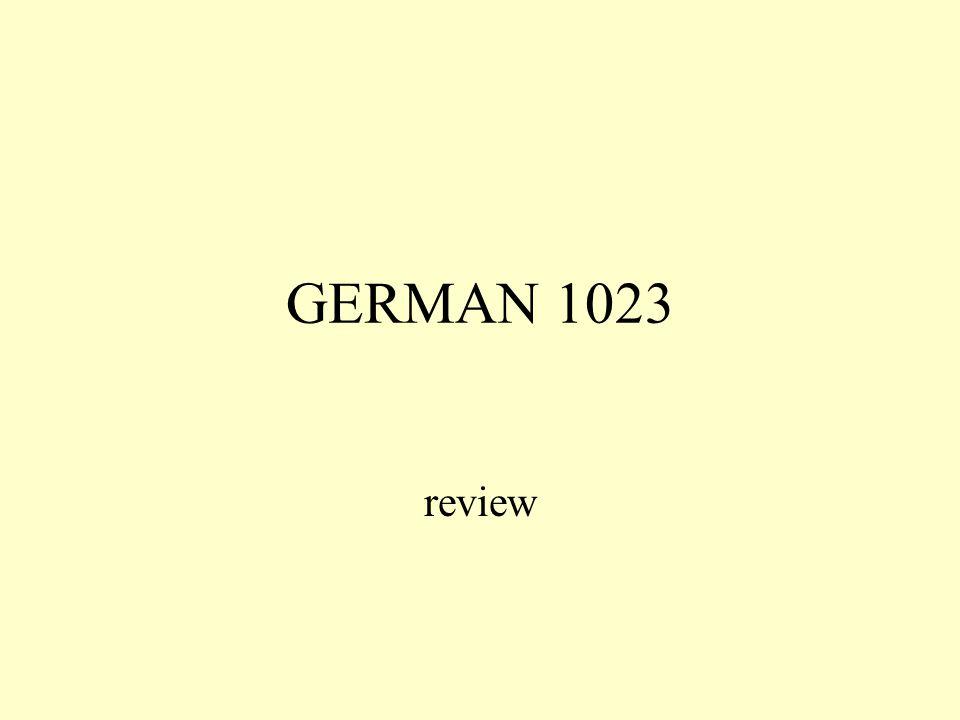 GERMAN 1023 review