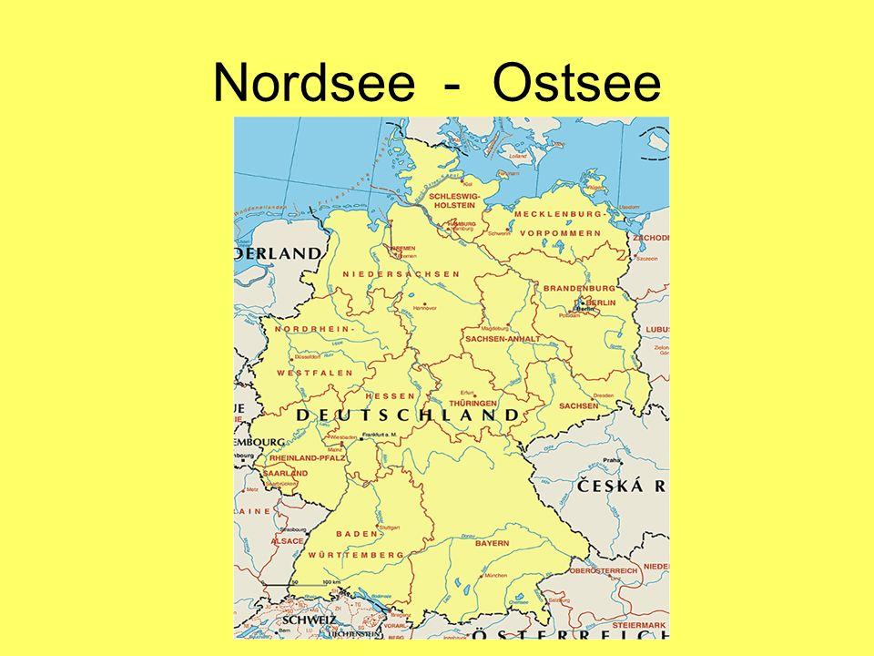 Nordsee - Ostsee