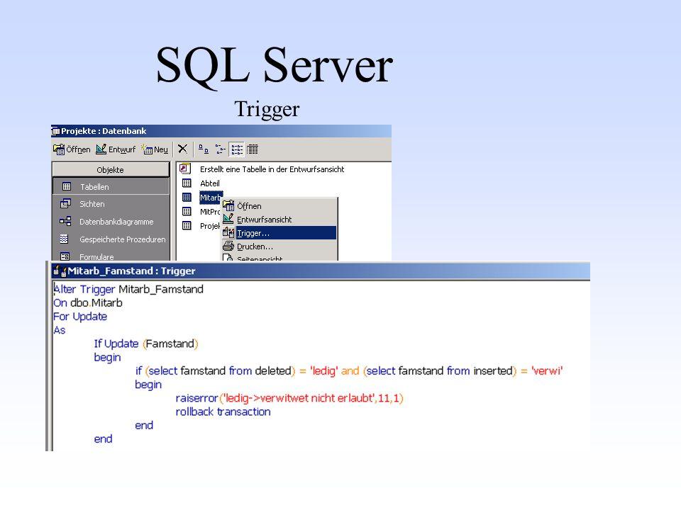 SQL Server Trigger