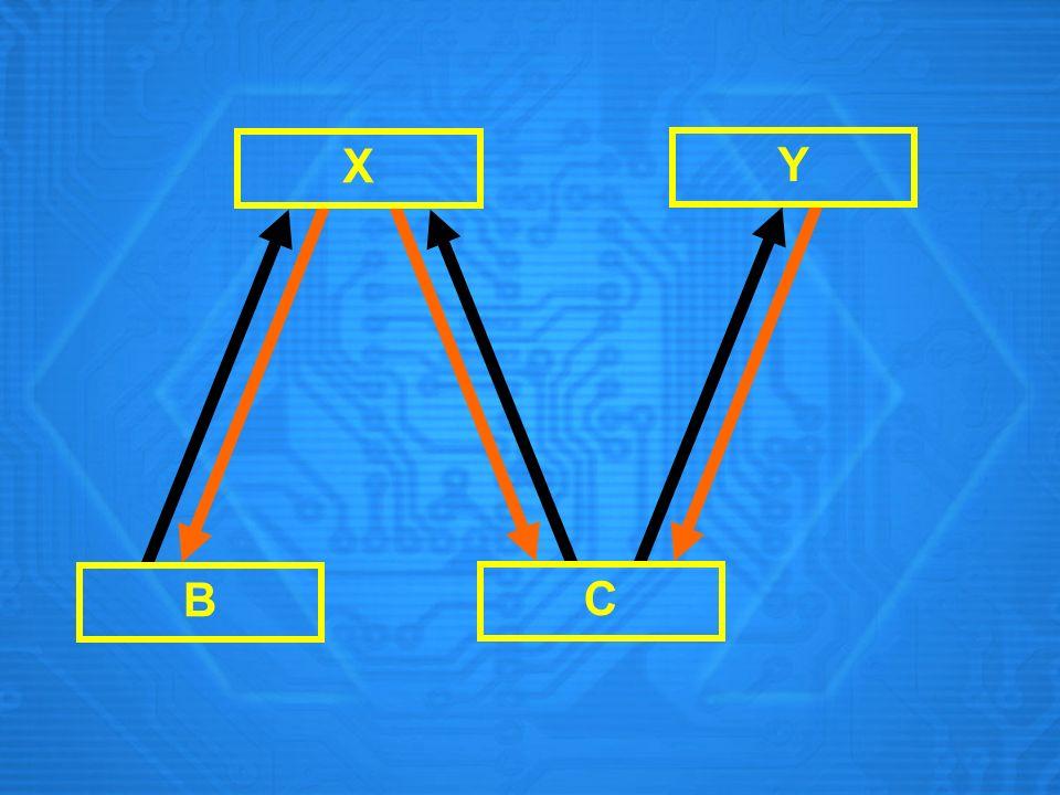 X B C Y