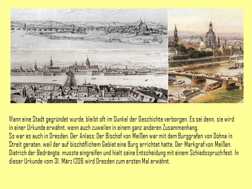 Wann eine Stadt gegründet wurde, bleibt oft im Dunkel der Geschichte verborgen. Es sei denn, sie wird in einer Urkunde erwähnt, wenn auch zuweilen in