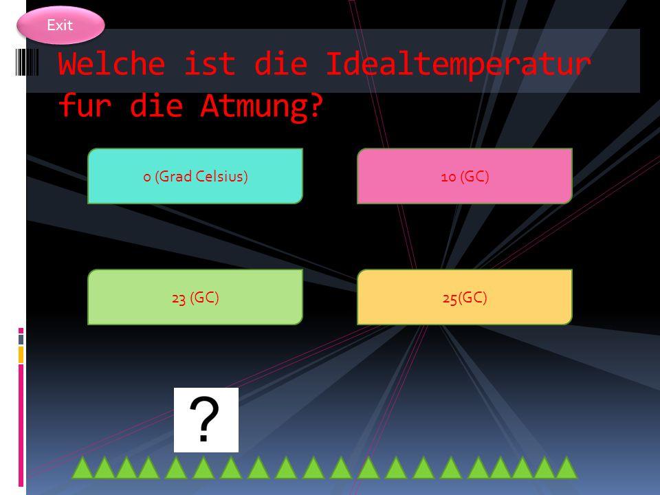 Exit Die Fichte kann auch bei … Grad Celsius atmen? -50 -25 -44 1000