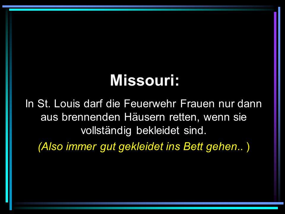 Missouri: In St.