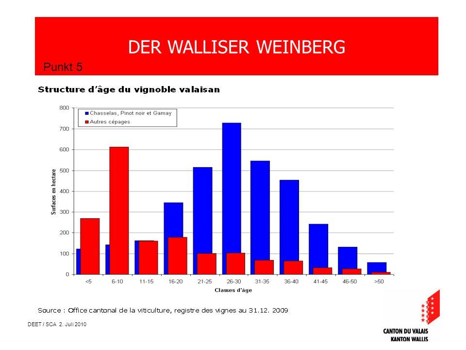 DEET / SCA 2. Juli 2010 DER WALLISER WEINBERG Punkt 5