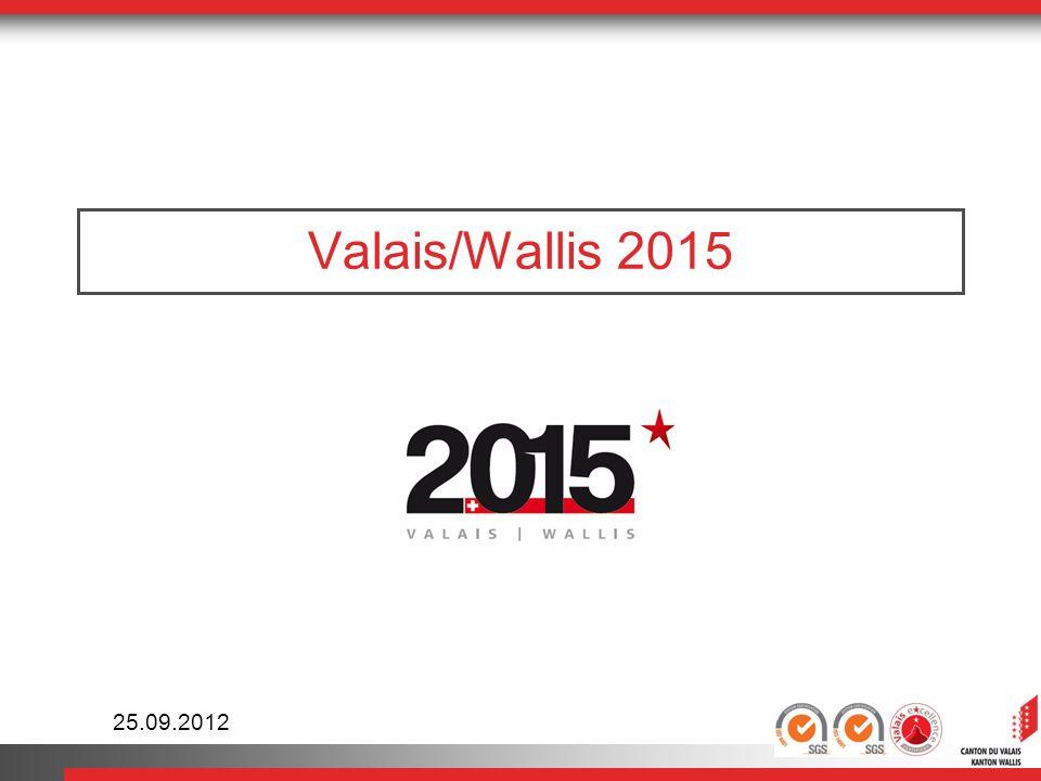 Valais / Wallis 2015 12 Ablauf Projektwettbewerb & Ideen-Brainstorming Startschuss: 25.
