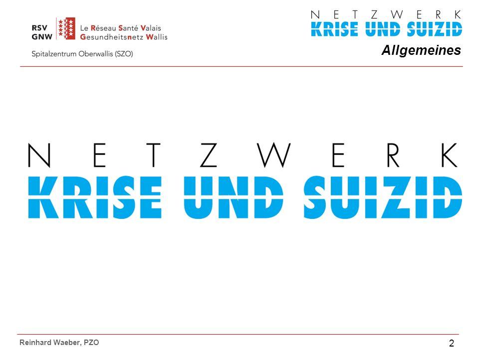 Allgemeines Reinhard Waeber, PZO 2