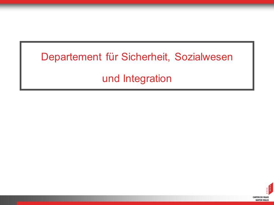 Departement für Sicherheit, Sozialwesen und Integration