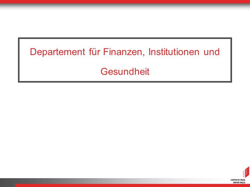Departement für Finanzen, Institutionen und Gesundheit