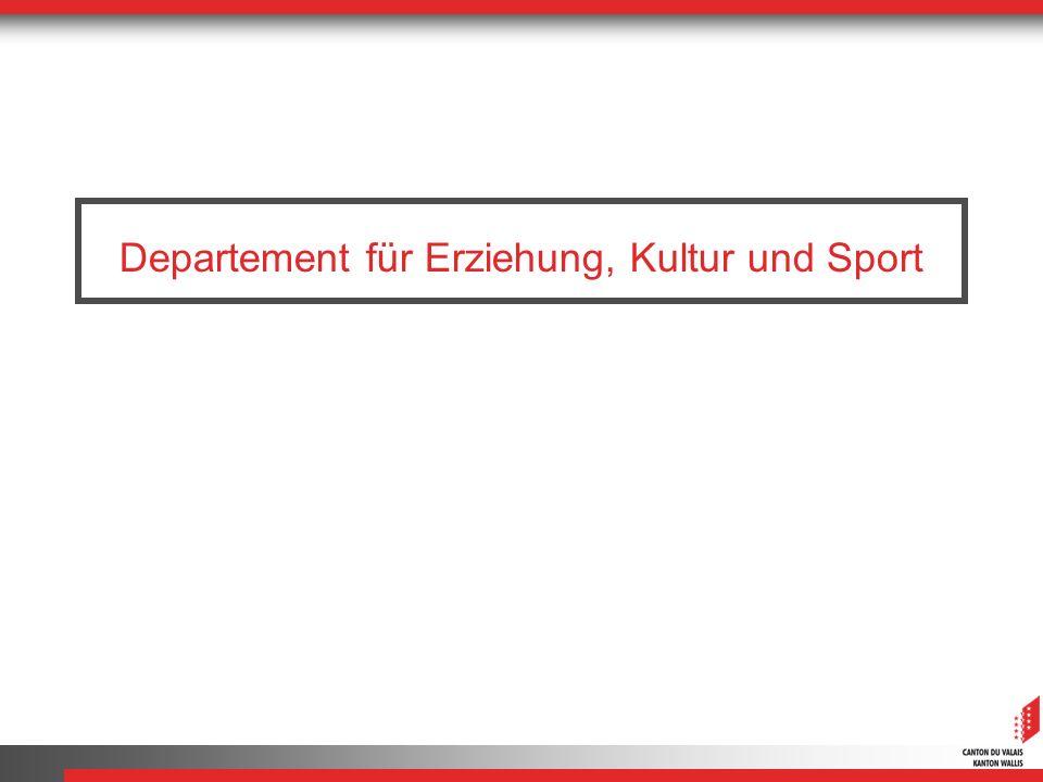 Departement für Erziehung, Kultur und Sport