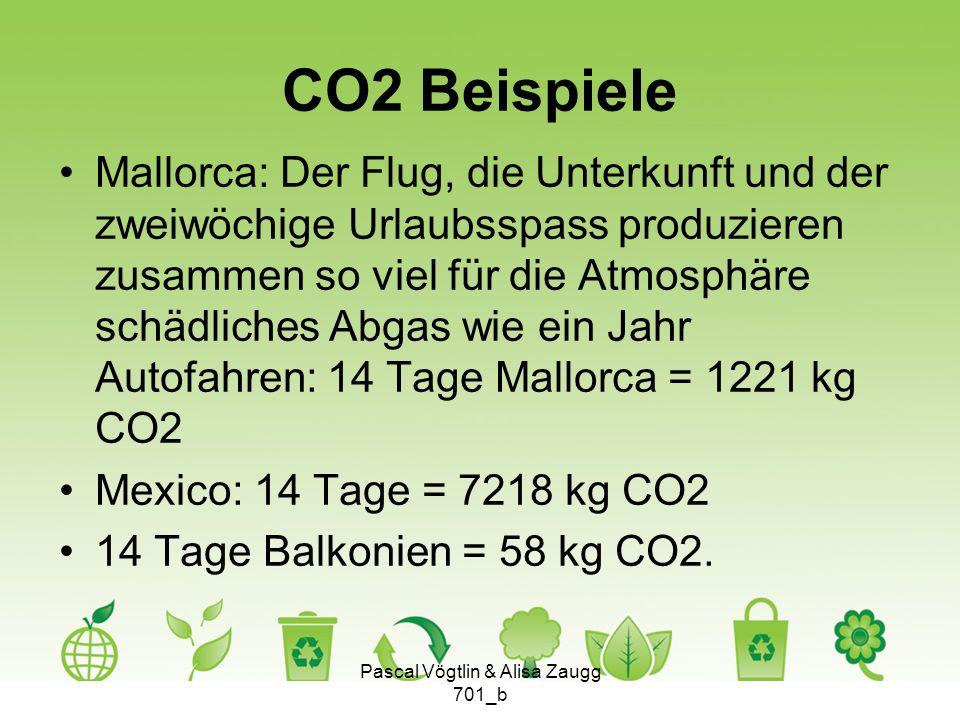 CO2 Beispiele Mallorca: Der Flug, die Unterkunft und der zweiwöchige Urlaubsspass produzieren zusammen so viel für die Atmosphäre schädliches Abgas wi