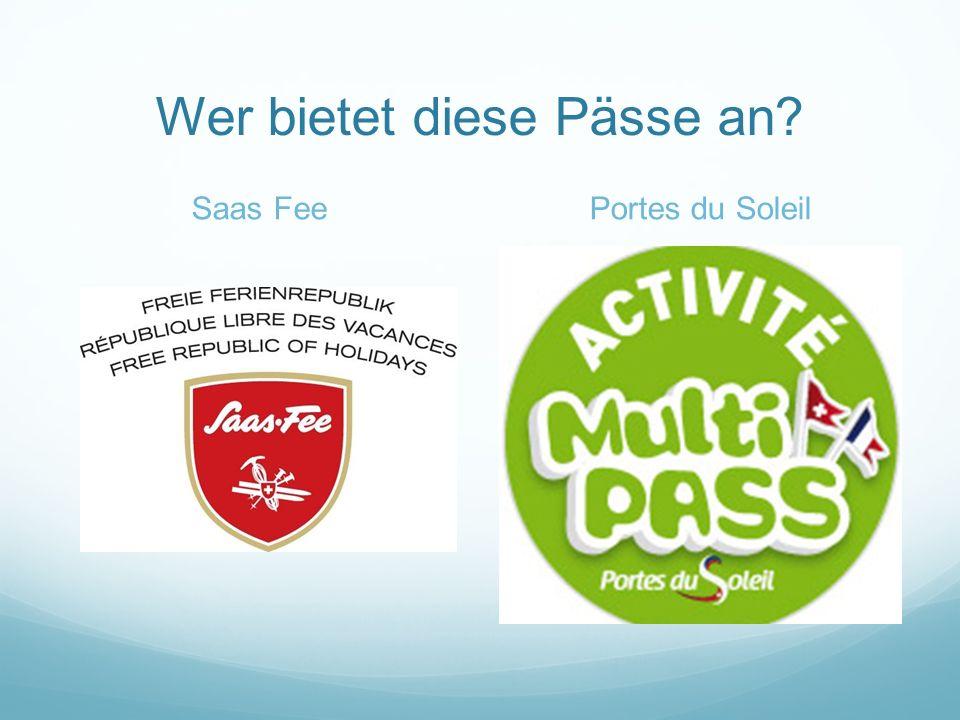 Wer bietet diese Pässe an? InnsbruckAlpachtal Seeland Card