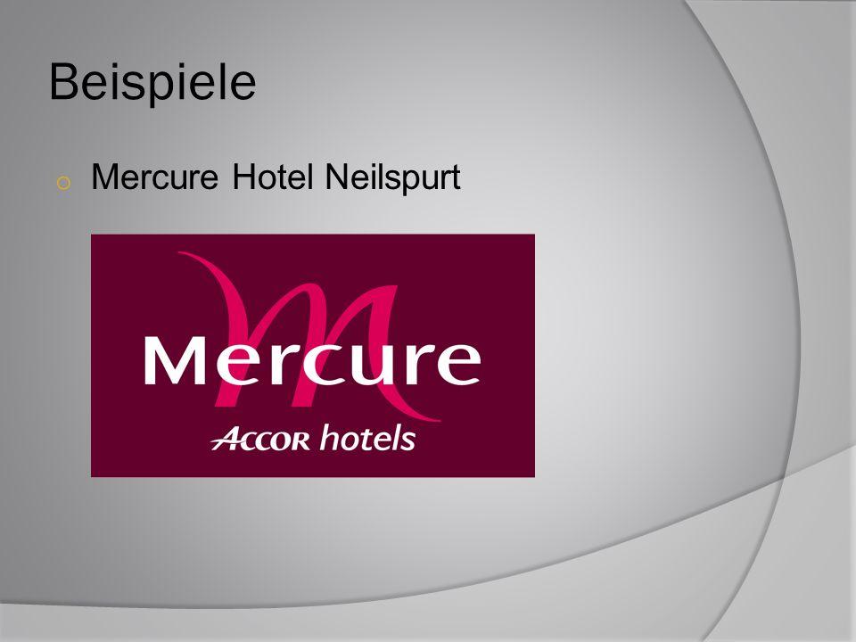 Beispiele o Mercure Hotel Neilspurt