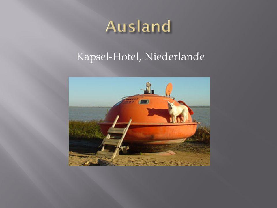 Kapsel-Hotel, Niederlande