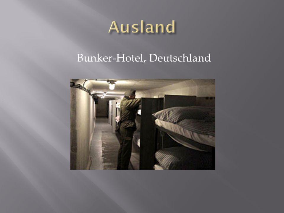Bunker-Hotel, Deutschland