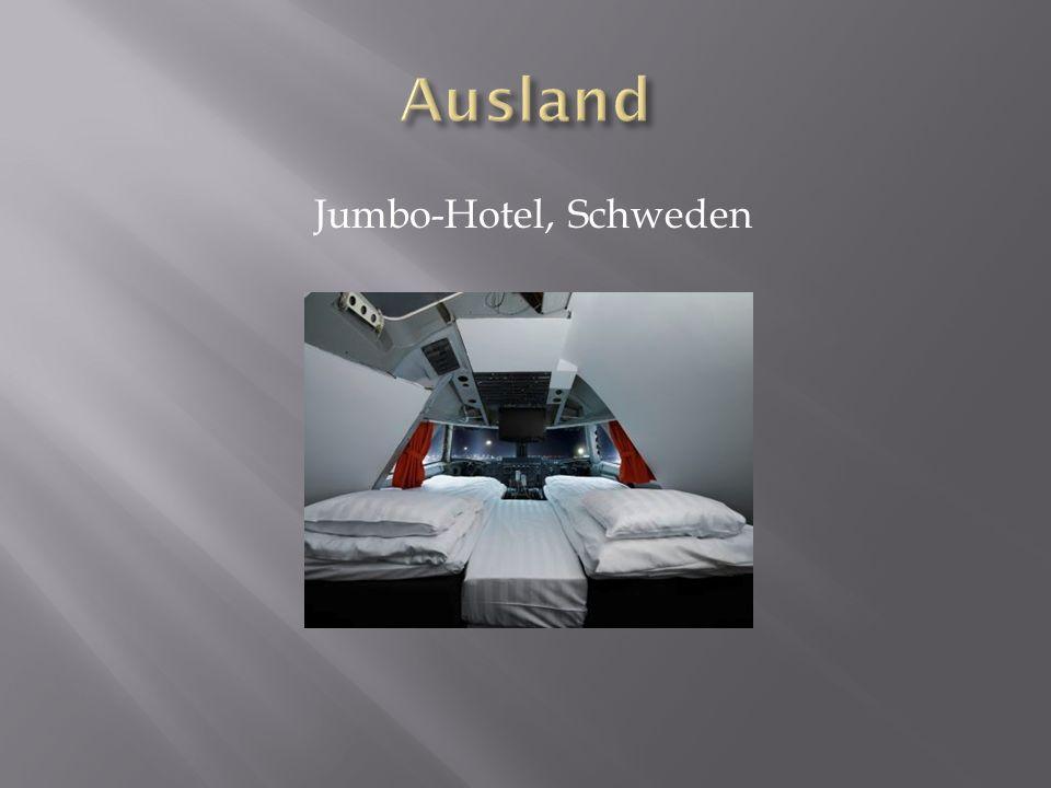 Jumbo-Hotel, Schweden