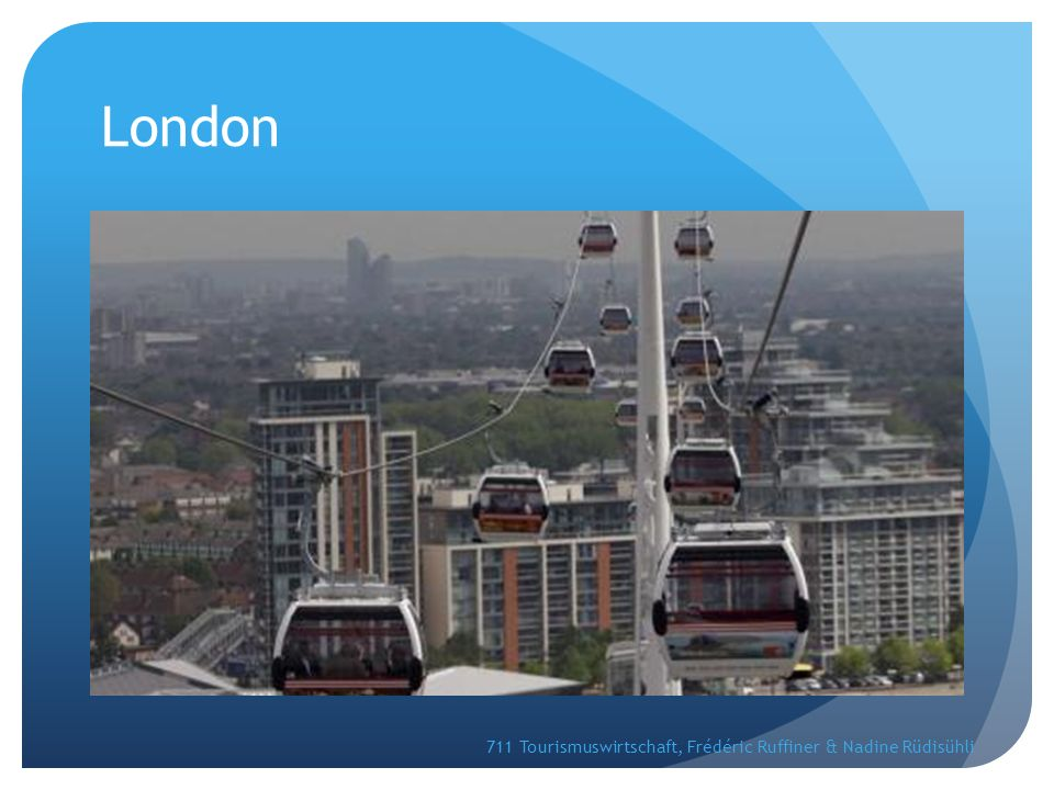 London 711 Tourismuswirtschaft, Frédéric Ruffiner & Nadine Rüdisühli
