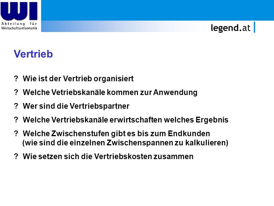 legend.at Vorlesungsprüfung Die Prüfung findet am Mittwoch, den 2.