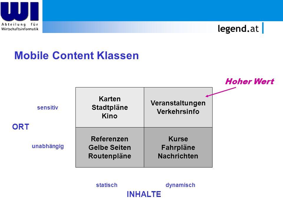 legend.at Mobile Content Klassen Karten Stadtpläne Kino Veranstaltungen Verkehrsinfo Referenzen Gelbe Seiten Routenpläne Kurse Fahrpläne Nachrichten s