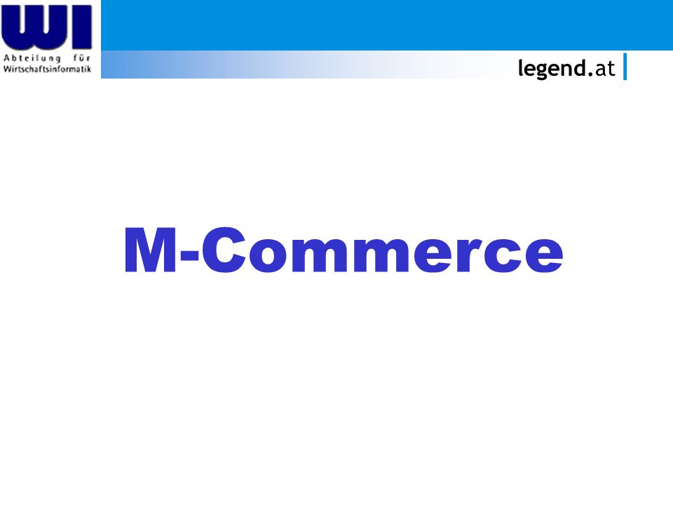 legend.at M-Commerce