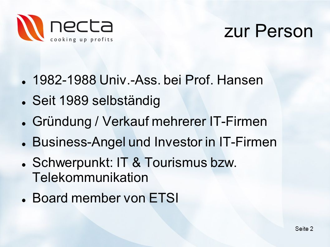 zur Person Univ.-Ass. bei Prof.