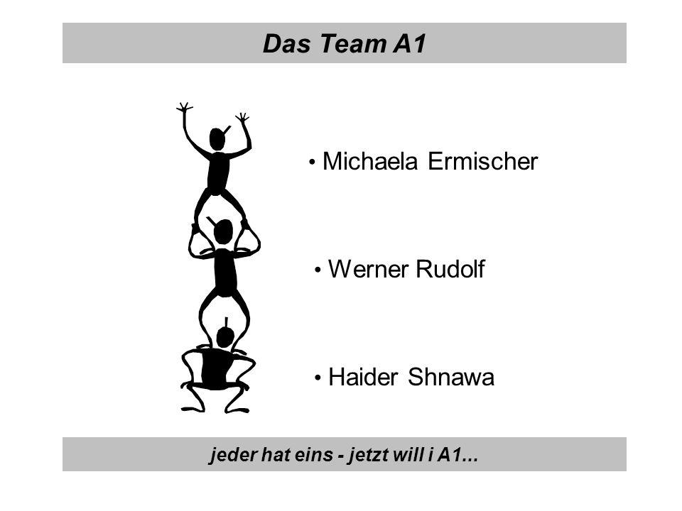 Michaela Ermischer Das Team A1 Werner Rudolf Haider Shnawa jeder hat eins - jetzt will i A1...